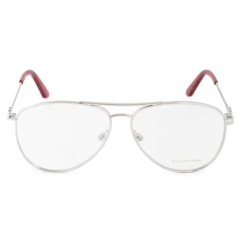 Balenciaga Balenciaga BA 5092 016 55 Aviator Eyeglasses Frames - 55mm x 12mm x 140mm