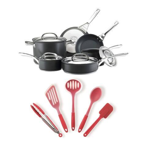 Circulon 80580 Acclaim 10-Piece Nonstick Cookware Pots and Pans Bundle