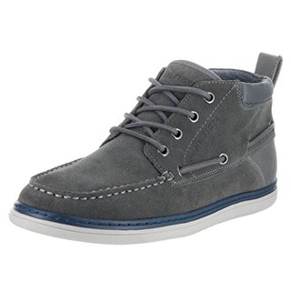 Tommy Hilfiger Mens Ludlow Boat Shoes Suede High Top - 9 medium (d)