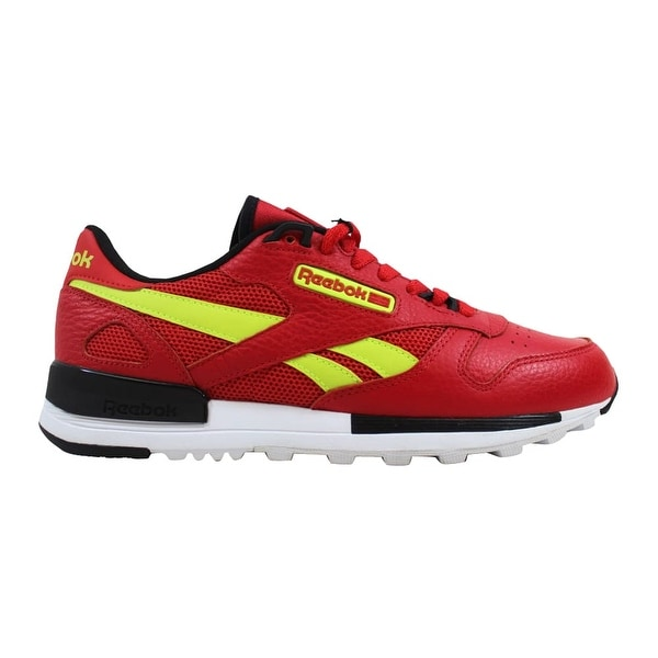 89578650c5ac5 Shop Reebok Classic Leather 2.0 Primal Red Black-Solar Yellow BS9445 ...