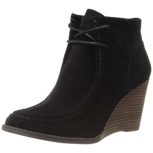 Lucky Brand Womens Ysabel Round Toe Ankle Fashion Boots