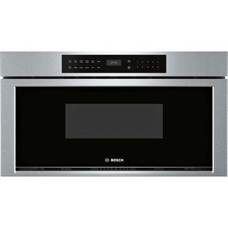 Bosch HMD8053UC 30 Inch Wide 1.2 Cu. Ft. Drawer Microwave with Push Button Opener