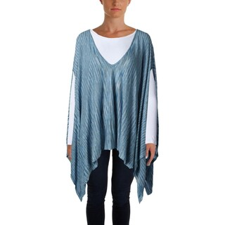 Moon & Meadow Womens Poncho Top Viscose Space Dye - o/s (2 options available)