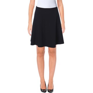 Tahari ASL Womens Petites Mini Skirt A Line Lined