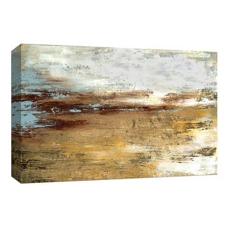 """PTM Images 9-148377  PTM Canvas Collection 8"""" x 10"""" - """"Golden Twilight"""" Giclee Abstract Art Print on Canvas"""