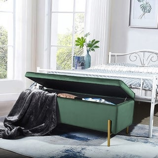Link to Furniture R Upholstered Flip Top Storage Bench Similar Items in Living Room Furniture