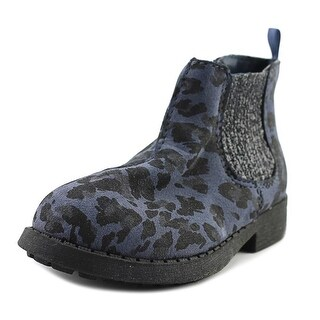 Osh Kosh Eden Toddler Round Toe Synthetic Blue Ankle Boot