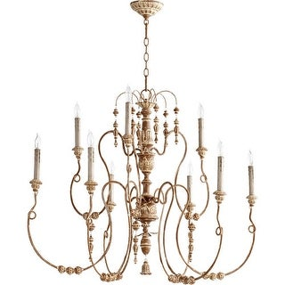 "Quorum International 6206-9 Salento 9 Light 41"" Wide 2 Tier Chandelier"