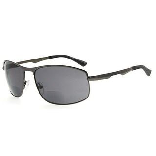 Eyekepper Bifocal Sunglasses Bifocal Sun Readers Outdoor Reading Glasses (Gunmetal, +1.75)