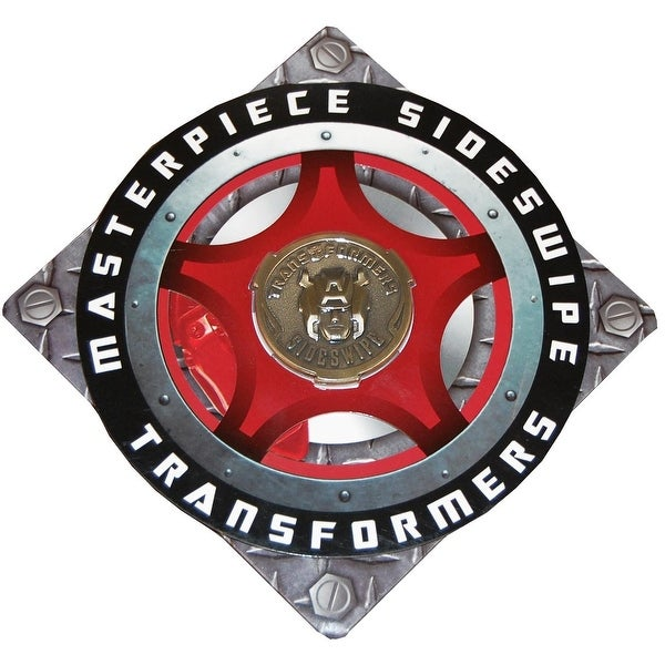 Transformers Masterpiece MP-12 Sideswipe Coin - Multi. Opens flyout.