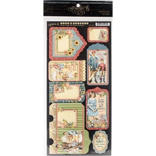 """Penny's Paper Doll Die-Cuts 6""""X12"""" Sheets 2/Pkg-Tag/Pocket"""