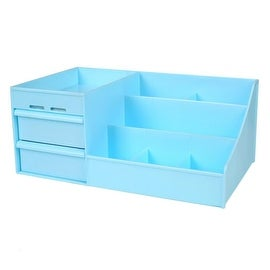 Drawer Type Organizer Comestics Sotrage Box 3014 S blue