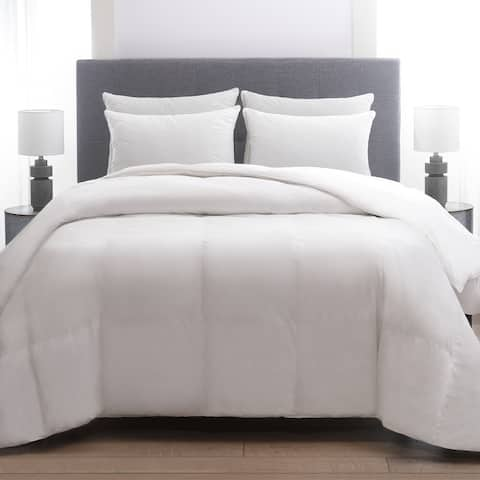 Cozy Classics 230 Thread Count Cotton Herringbone Quilted Pillow (4 Pack)