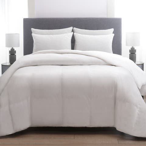 Cozy Classics 230 Thread Count Cotton Quilted Pillow (4 Pack)