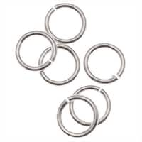 Silver Filled Open Jump Rings 5mm 19 Gauge (10)