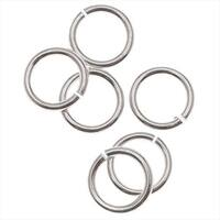 Silver Filled Open Jump Rings 5mm 21 Gauge (20)