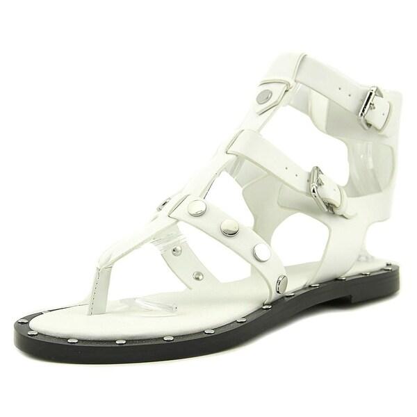Kendall + Kylie Robin Women Open Toe Synthetic White Gladiator Sandal