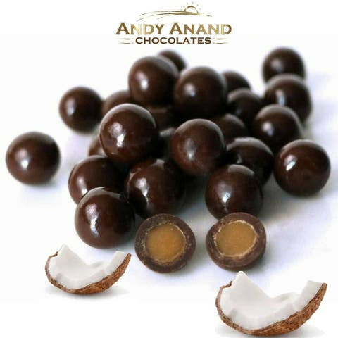 Andy Anand Dark Chocolate Coconut Milk Caramels (1 lbs)