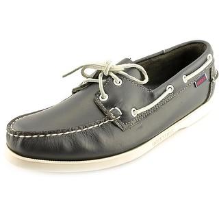 Sebago Docksides Moc Toe Leather Boat Shoe