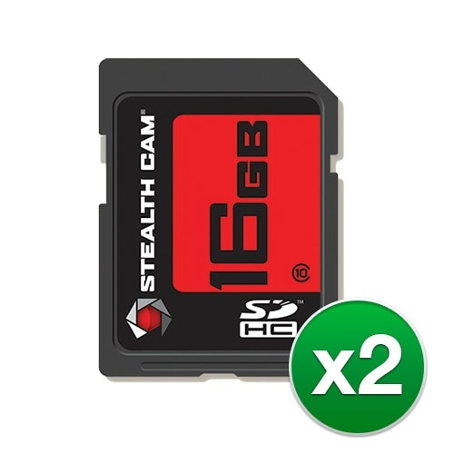 """Stealth Cam SD Memory Card (2-Pack) SD Memory Card"""