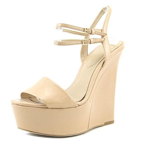 e1aac1dbb633 Shop Aldo Aliane Women Open Toe Synthetic Nude Wedge Heel - Free ...