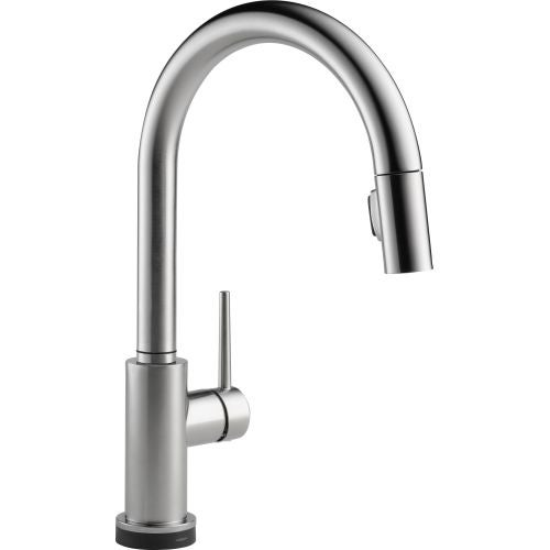 Genial Delta 9159T DST Trinsic Pull Down Kitchen Faucet With On/Off Touch  Activation