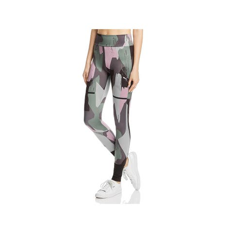 Puma Womens Chase Athletic Leggings Fitness Yoga - XS