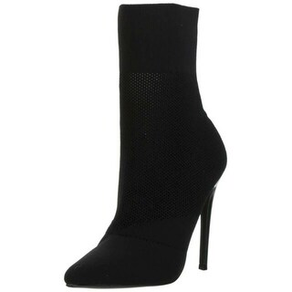 Link to Steve Madden Womens Century Fabric Pointed Toe Ankle Fashion Boots Similar Items in Women's Shoes