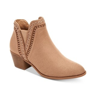 Style & Co. Womens Meridaa Pointed Toe Ankle Chelsea Boots