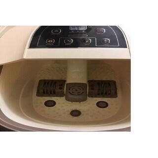 Prospera Pure Calf and Foot Spa, with Shiatsu Rolling Massage, Heat, Jets, Bubbles, Digital Time, and Temperature Control