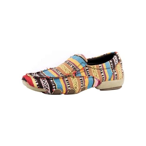 Roper Western Shoe Womens Southwest Stripes Multi