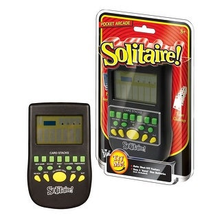 Westminster Pocket Arcade Electronic Handheld Games - Solitaire