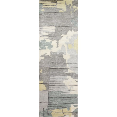 Bashian Murray Contemporary Hand Tufted Area Rug
