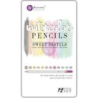 Prima Mixed Media Watercolor Pencils 12/Pkg-Sweet Pastels