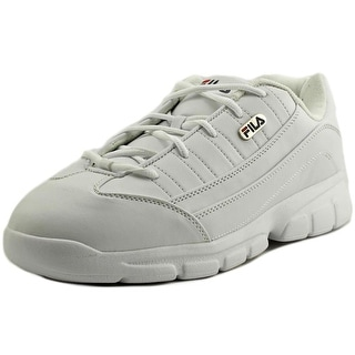 Fila Homestown SE Round Toe Leather Sneakers