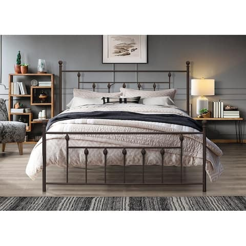 Melia Metal Platform Bed