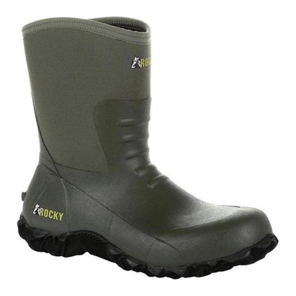 b555dbe15e0 Shop Rocky Men's Core Chore Rubber Outdoor Boot RKS0372 Olive Rubber ...