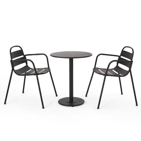 Terra Outdoor Outdoor 3 Piece Bistro Set by Christopher Knight Home