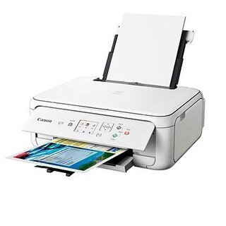 Canon Pixma Ts5120 Wireless Inkjet All-In-One Printer - White