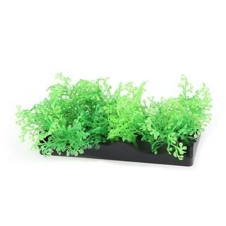 Unique BargainsAquarium Underwater Artificial Grass Water Plant Decor Ornament 4.5cm Height