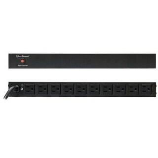 Cyberpower Pdu15b10r 15A 10-Outlets 1U Rm Basic Power Distribution Unit