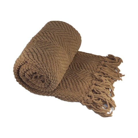 Boon Knitted Tweed Couch Throw