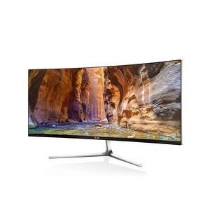 "NEW - New 34UC97S LG 34"" WQHD 3440x1440 IPS Curved LED Monitor HDMI DisplayPort"