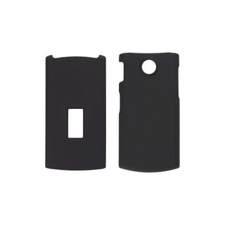 Soft Touch Snap-On Case for LG GD570 dLite, Black