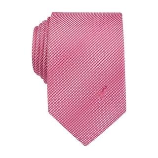 Susan G Komen Textured Gradient Check Classic Tie Pink