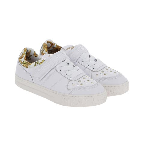 Versace Jeans Couture Signature Velcro Tie Sneakers-