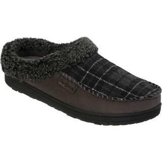 0f3d057bc8e Buy Dearfoams Men s Slippers Online at Overstock