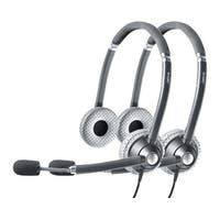 Jabra Voice 750 Duo Dark MS Stereo Corded Headset (2-Pack) w/ Noise Reduction System