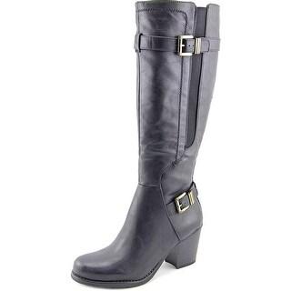 Naturalizer Tafia Women  Round Toe Synthetic Black Knee High Boot