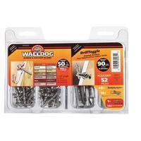 Walldog 42071 Hillman 0.18 in. Drill Toggle Kit - pack of 3